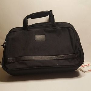 BRAVO by Andiamo Black Laptop Computer Briefcase New with tags